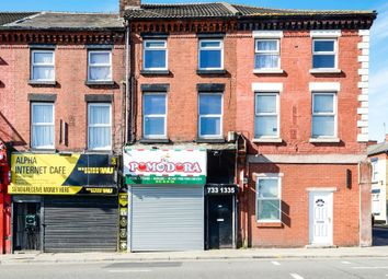 Thumbnail 2 bedroom terraced house for sale in Smithdown Road, Liverpool