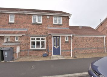 Thumbnail 3 bed semi-detached house for sale in Aydon Gardens, Longbenton, Newcastle Upon Tyne