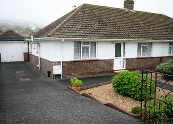 Thumbnail 2 bed semi-detached bungalow to rent in Saltdean Vale, Saltdean, Brighton