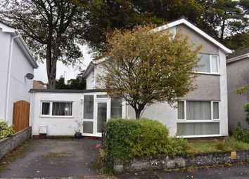 Thumbnail 4 bed detached house for sale in Raleigh Close, Sketty, Swansea