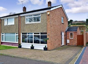 Thumbnail 3 bed semi-detached house for sale in Rochester Road, Aylesford, Kent