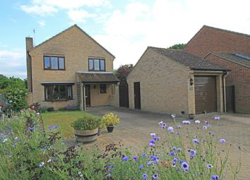 Thumbnail 4 bed detached house for sale in Millers Close, Offord Darcy