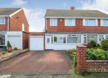 Thumbnail 3 bed semi-detached house for sale in North Drive, Cleadon, Sunderland
