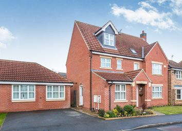 Thumbnail 5 bedroom detached house for sale in Birchway Grove, Littleover, Derby