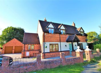 Thumbnail 4 bed detached house for sale in Alltami Road, Buckley