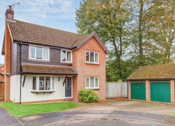 Thumbnail 4 bed detached house for sale in Benedict Close, Halterworth, Romsey, Hampshire