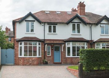 Thumbnail 4 bed semi-detached house for sale in St. Marks Avenue, Altrincham
