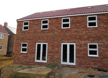 Thumbnail 3 bed end terrace house for sale in Leveret Gardens, Downham Market