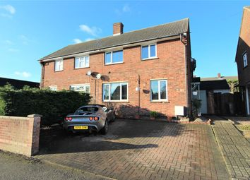 Thumbnail 3 bed semi-detached house for sale in Tithe Barn Road, Wootton, Bedford