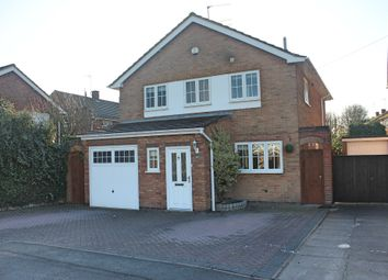 Thumbnail 3 bed detached house for sale in Gwendoline Drive, Countesthorpe, Leicester
