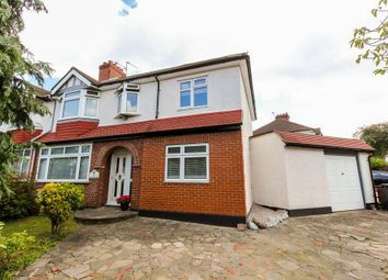 Thumbnail 4 bed semi-detached house for sale in Goodwood Avenue, Enfield