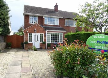 Thumbnail 3 bed semi-detached house for sale in Station Road, Stoke Golding, Nuneaton