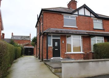 Thumbnail 2 bedroom semi-detached house to rent in Irwin Crescent, Belfast
