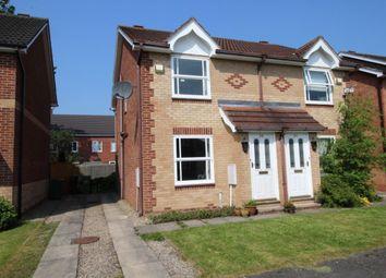 Thumbnail 2 bedroom semi-detached house for sale in Stephenson Close, Huntington, York