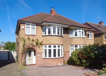 Thumbnail 3 bed semi-detached house for sale in Meadowview Road, West Ewell