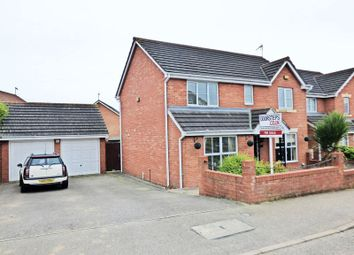 Thumbnail 4 bedroom detached house for sale in Primrose Close, Corby