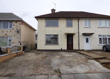 Thumbnail 3 bedroom semi-detached house for sale in Blundell Road, Evington, Leicester, Leicestershire