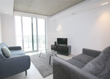 Thumbnail 1 bed flat to rent in Hoola Building, Royal Docks, London