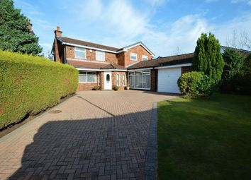 Thumbnail 4 bedroom detached house for sale in Higher Croft, Whitefield, Manchester