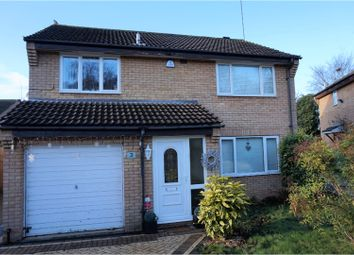 Thumbnail 4 bedroom detached house for sale in Faringdon Court, Northampton