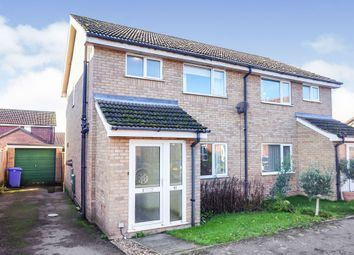 Thumbnail 3 bed semi-detached house for sale in Mountbatten Road, Bungay