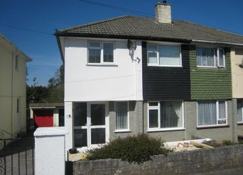 Thumbnail 3 bedroom semi-detached house to rent in Dudley Road, Plympton, Plymouth