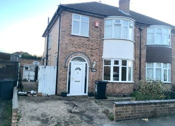 Thumbnail 3 bed semi-detached house for sale in Cairnsford Road, Leicester