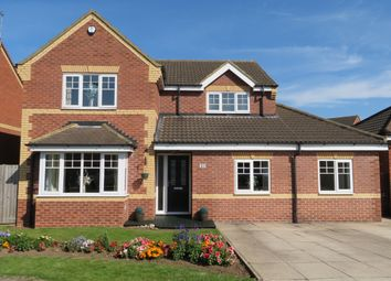 Thumbnail 5 bed detached house for sale in Sandbeck Court Rossington, Doncaster