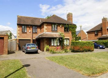 Thumbnail 5 bedroom detached house for sale in Aldrich Drive, Willen, Milton Keynes