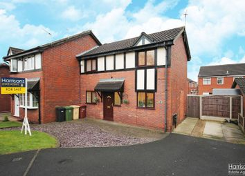 Thumbnail 2 bed semi-detached house for sale in Sedgley Drive, Westhoughton, Bolton, Lancashire.