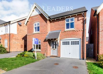 Thumbnail 3 bed detached house to rent in Graves Way, Anstey
