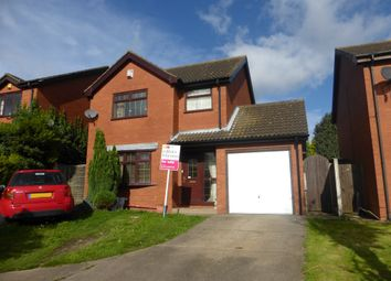 Thumbnail 3 bedroom detached house for sale in Boston Close, Winterton, Scunthorpe