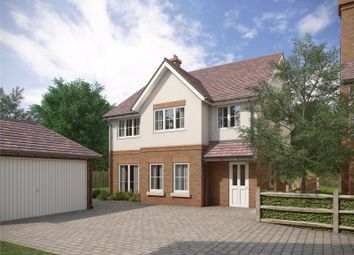 Thumbnail 4 bed detached house for sale in The Paddocks, Warnford Road, Corhampton