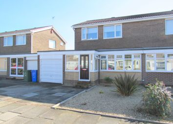 Thumbnail 3 bed semi-detached house for sale in Windburgh Drive, Cramlington