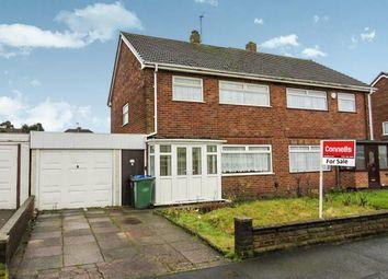 Thumbnail Semi-detached house for sale in Lea Avenue, Wednesbury