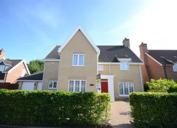 Thumbnail 5 bedroom detached house for sale in Cornfield Road, Mulbarton, Norwich