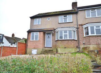 Thumbnail 4 bed semi-detached house for sale in Ashfield Avenue, Bushey