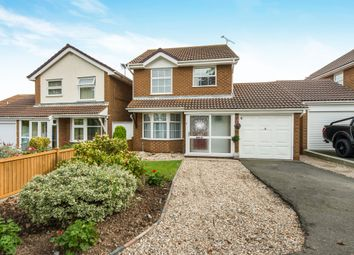 Thumbnail 3 bed detached house for sale in Cheyne Close, Kemsley, Sittingbourne