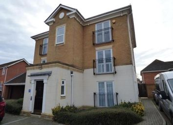 Thumbnail 3 bed flat for sale in Cheldoc Rise, St. Marys Island, Chatham, Kent