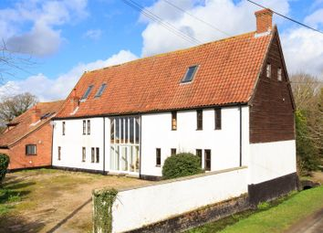 Thumbnail 6 bed barn conversion for sale in Mundham, Norwich