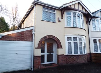 Thumbnail 3 bed property to rent in Alexandra Road, Penn, Wolverhampton