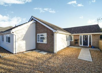 Thumbnail 5 bedroom detached bungalow for sale in Marriotts Drove, Ramsey Mereside, Huntingdon