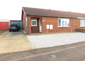 Thumbnail 2 bed semi-detached bungalow for sale in Hunters Chase, March
