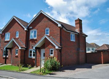 Thumbnail 2 bed semi-detached house for sale in Oliver Road, Pennington, Lymington
