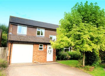 Thumbnail 4 bed detached house for sale in Green Close, South Wonston, Winchester