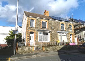 Thumbnail 3 bed semi-detached house for sale in Waunbant Road, Bridgend