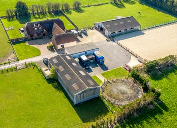 Thumbnail 6 bed equestrian property for sale in Upchurch, Nr Sittingbourne, Kent