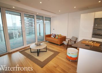 Thumbnail 1 bed flat to rent in Baltimore Wharf, London