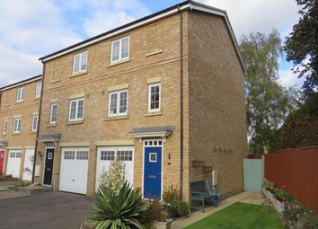 Thumbnail 3 bed town house for sale in Redshank Close, Soham, Ely
