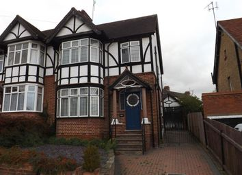 Thumbnail 3 bed semi-detached house to rent in Cutenhoe Road, Luton